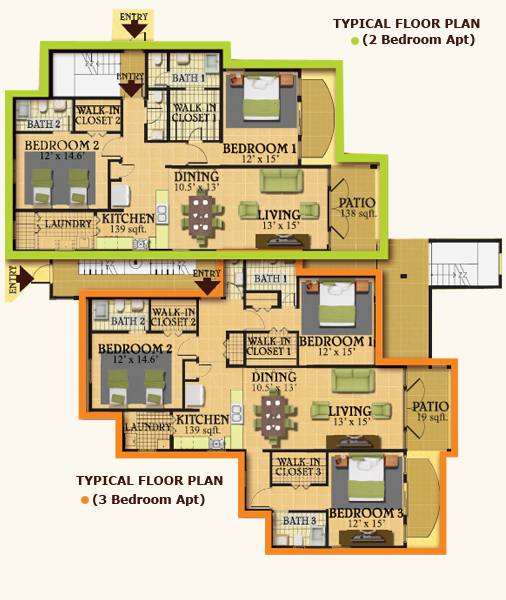 Plan for 3 unit development small house plans modern for 3 unit house plans